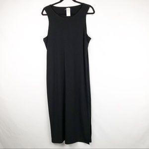 BANANA REPUBLIC Black Sleeveless Dress NWT SIZE L